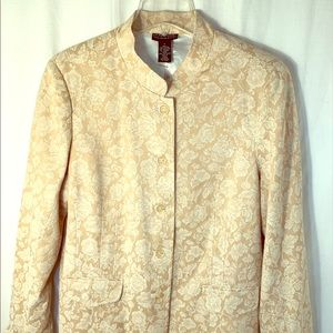 Dialogue button front jacket